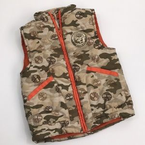 Timberland | Army Fatigue Puff Vest